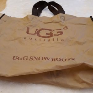 Flawed UGG reusuable shopping bag only